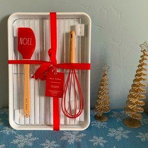 Rae Dunn Christmas 4 Piece Baking Set NOEL NWT 🎄